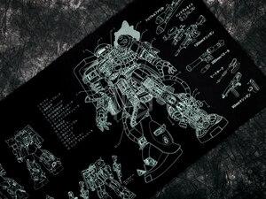 Image 3 - Mechanische tastatur Mousepad zaku II ms 06 900 400 4mm nicht Genäht Kanten Weiche/Gummi Hohe qualität