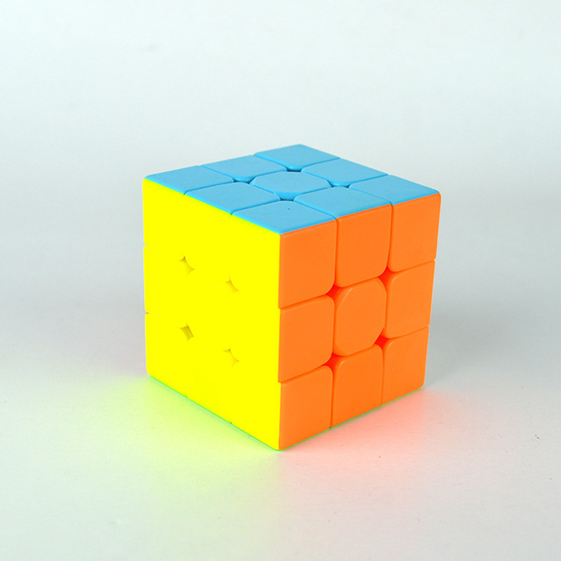 Colorful Cubes 3x3x3 Magic Anti-Stress Cube Fidget Cubic Educational Toys for Adults&Children