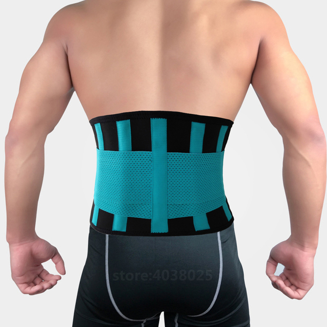 Lumbar Back Spinal Spine Waist Brace Support Belt Corset Stabilizer Cincher Tummy Trimmer Trainer Weight Loss Slimming Belt Men 1
