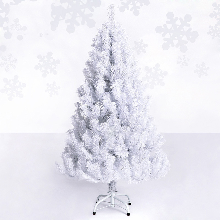 Plastic Artificial Christmas White Tree High Quality