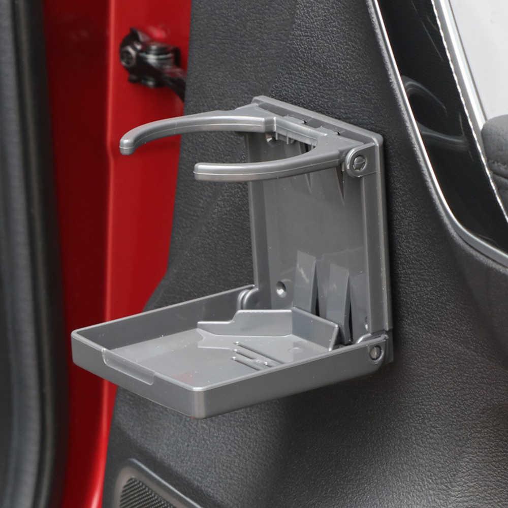 Minum Mobil Pemegang Cangkir Air Pemegang Memancing Kotak ABS Plastik Lipat Pemegang Asbak Termos Piala Botol Air Aksesoris Truk