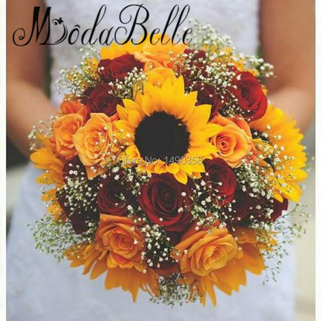 Modabelle Red Rose Bridal Bouquets Styles 2017 Artificial Bride