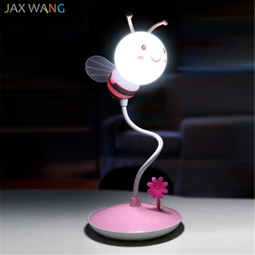 Flight Tracker Jw_table Lamp Bee Remote Adjustable Night Lights Creative Energy Saving Bedroom Bedside Lamps Baby Feeding Warm Led Lights High Quality And Low Overhead Led Table Lamps