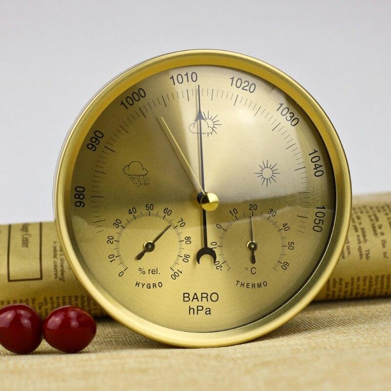 5 дюймов Барометр термометр гигрометр настенный бытовой Метеостанция #0616