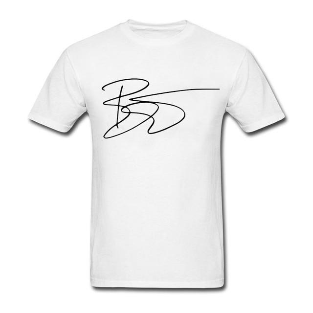 69c96be280b07 David Bowie Signature Man T Shirt Men Summer O Neck Club Tees Male New  Arrival Plus