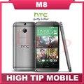 Мобильный телефон HTC M8, разблокированный один четырёхъядерный Android 4.4 2 гб RAM 16 гб / 32 гб ROM 4 G LTE 3 камера Refurbisehd