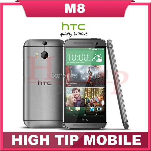 Teléfono móvil HTC M8, desbloqueado Quad Core Android 4.4 2 GB RAM 16 GB / 32 GB ROM 4 G LTE 3 cámara Refurbisehd