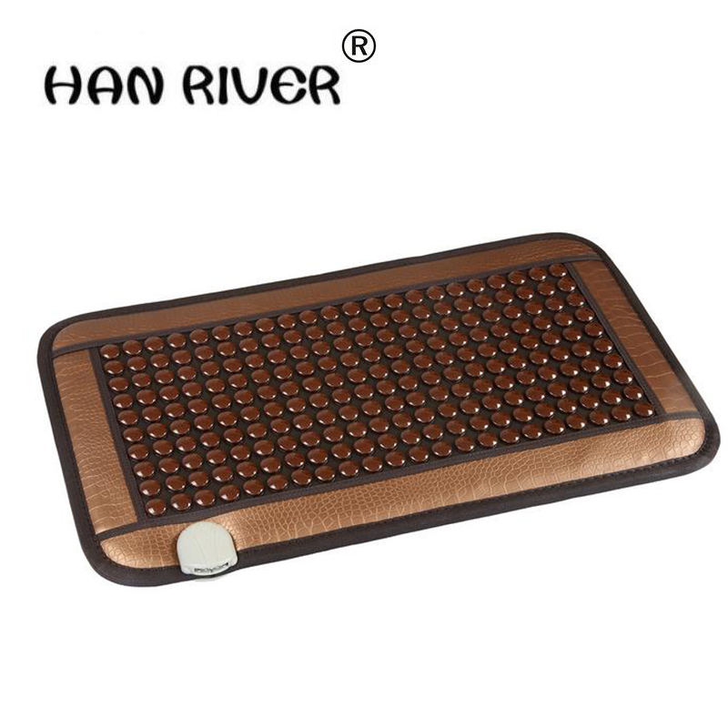Caldo caldo di pietra del germanio fisioterapia pad MS tomalin elettrico di riscaldamento salute tormalina stuoia ufficio cuscino del divano cuscino