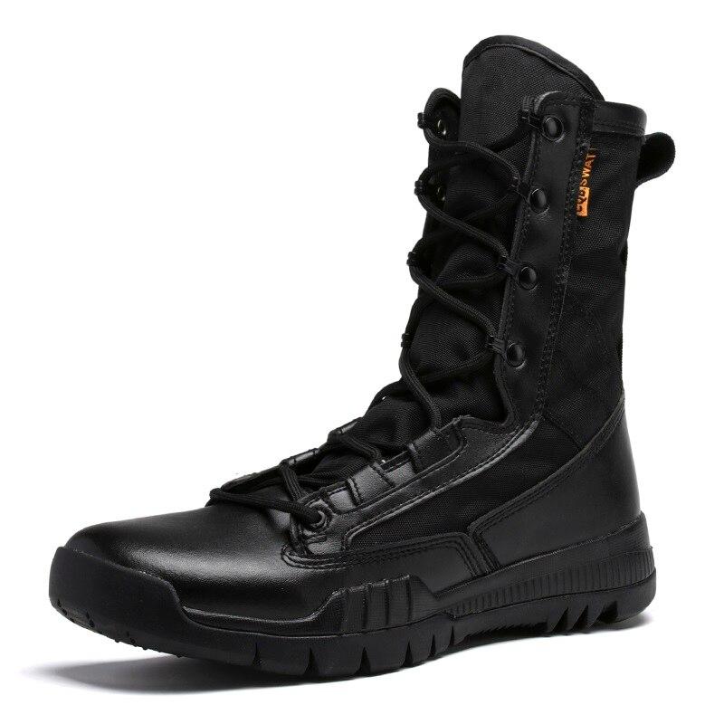 Ultra De automne Armée Hommes Respirant Combat Tactique Boot marron Noir Lumière 137 Bottines Hh Bottes Désert Printemps Toile Noir Chaussures Militaire 1qd40wx0