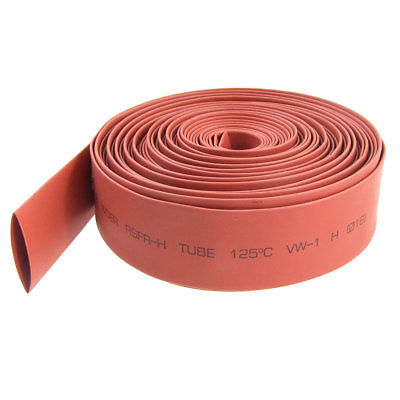 Heat Shrink Tubing Tube Diameter 16mm 10M Red retardant heat shrink tubing shrinkable tube diameter cables 120 roll sale