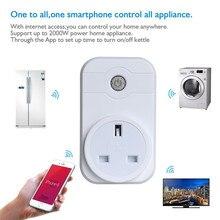 EU/US/UK/AU Plug Smart Plug Wifi Power Socket Plug Outlet Timer Support Amazon Alexa Voice Control for Andriod IOS Smartphone