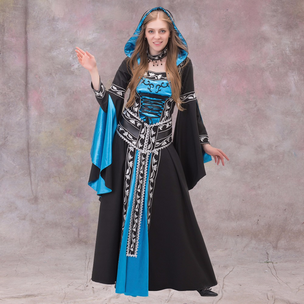 Custom Made Medieval Renaissance Dress Gothic Style Dress Gown ...