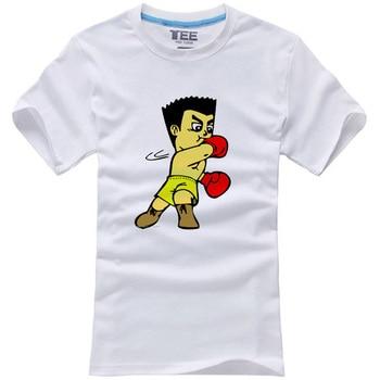 Fashion Men T Shirt Judo Japanese Nippon Martial Art Combat Print T Shirt Male Short