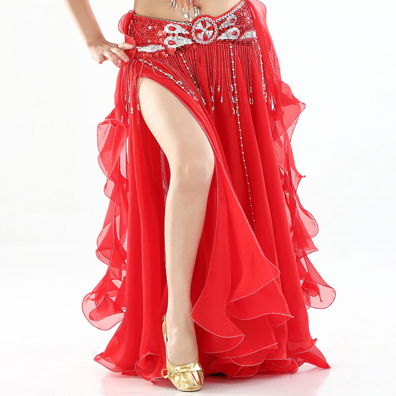 50c302a87d 2019 New Belly Dancing Clothing Long Maxi Skirts lady belly dance skirts  Women Sexy Oriental Belly Dance Skirt Professiona-in Belly Dancing from  Novelty ...