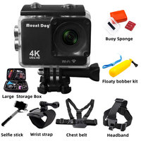 MountDog MD4247 Sport Video Camera corder DVR DV Waterproof go pro Camera accessories action camera HD 4K WiFi Remote Control