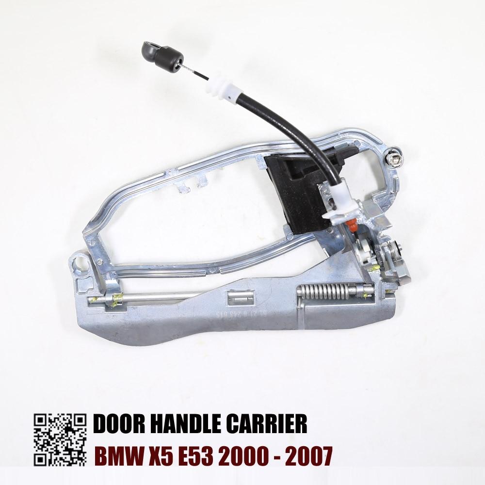 Door Handle Carrier Fits For BMW X5 E53 2000 2001 2002 2003 2004 2005 2006 2007