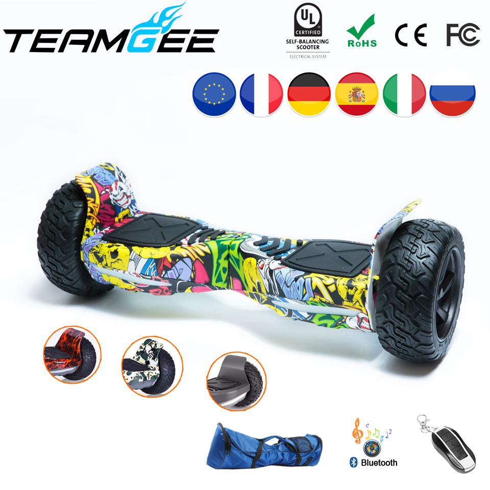 где купить Oxboard Hoverboard Hummer All Terrain 8.5 Inch Off Road Scooter Electric Skateboard Electric Scooters Adults Haveboards EU Stock по лучшей цене