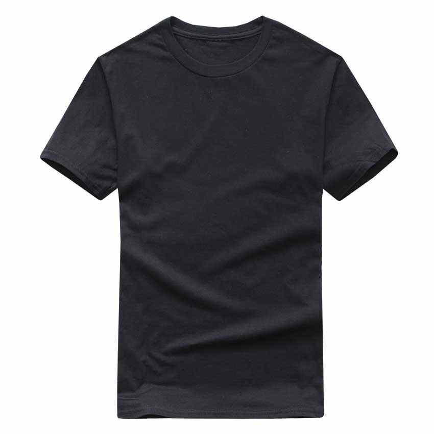 Di Colore solido T Shirt Commercio All'ingrosso Nero Bianco Delle Donne Degli Uomini di Cotone T-Shirt di Marca di Skate T-Shirt Corsa e Jogging Pianura di Modo Magliette e camicette Magliette