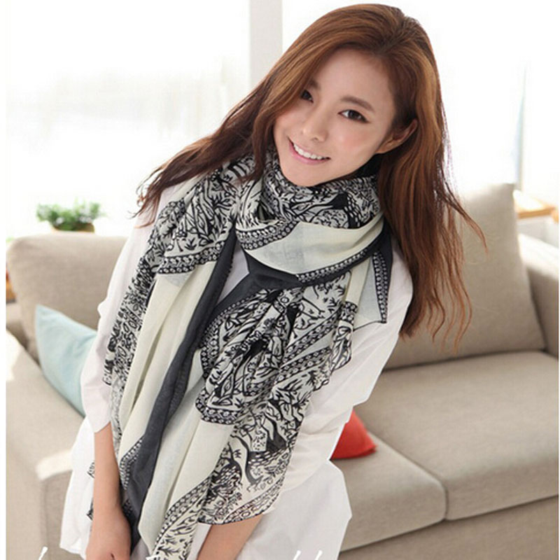 Vintage Women Lady Soft Long Neck Large   Scarf     Wrap   Shawl Pashmina Stole   Scarves   Hot Item Hot