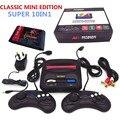 Новейшие RETROAD мини classic edition 16bit SEGA Genesis/MD компактный ТЕЛЕВИЗОР игровой консоли с 64 P картридж solt с 10 классические игры