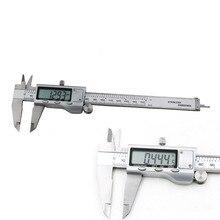 Cheapest prices 1pcs 6″ 150mm Metal Housed Decimal Digital Vernier Caliper Micrometer Measuring