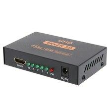 3D 4 К * 2 К HDMI 1080 P Разделение тер 1X4 HDMI коммутатор Разделение 1 в 4 из видео Усилитель Repeater для HDTV Дисплей DVD PS3