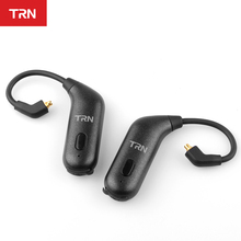 TRN BT20S Bluetooth V5.0 Oorhaak MMCX/2Pin Connector Oortelefoon Bluetooth Adapter Voor SE535 KZZSN/ZS10/AS16 TRN V80/X6 NICEHCK F3