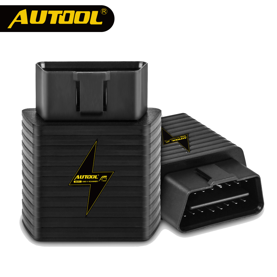AUTOOL A5 OBD2 II ELM327 V1.5 Auto Scanner ULME 327 OBD Auto HUD Code Reader WIFI Bluetooth Multifunktions Auto Scan diagnose Tool
