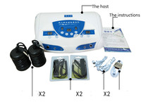 110V/220V Dual User Detox Ionic Foot Bath Ion Spa Machine Cell Cleanse MP3 Arrays