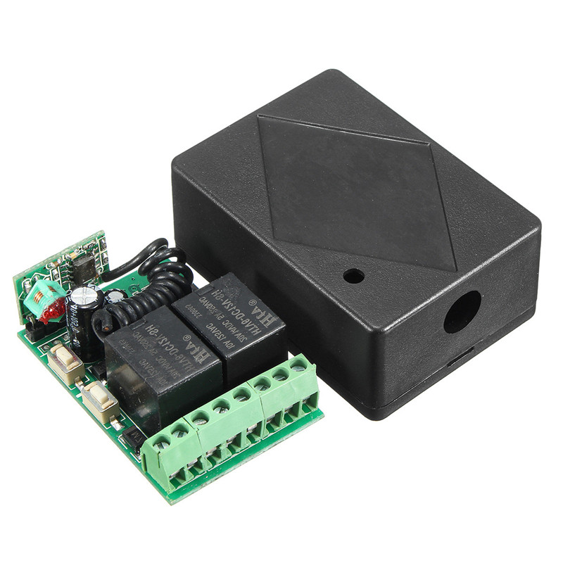 12V DC 2CH 10A Relay Wireless Remote Control Switch Transmitter Time Relay Learning 315MHz Lowest Price 315 433mhz 12v 2ch 6 transmitter