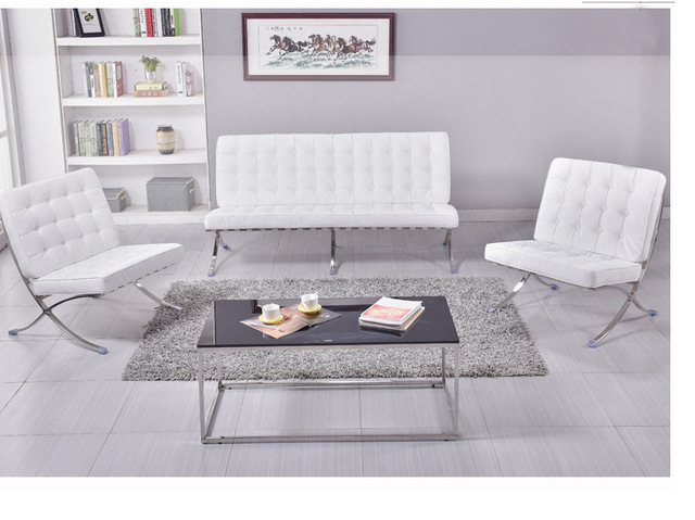 Office Sofas Office Furniture Commercial Furniture Metal Frame +PU Sponge  One / Two /three