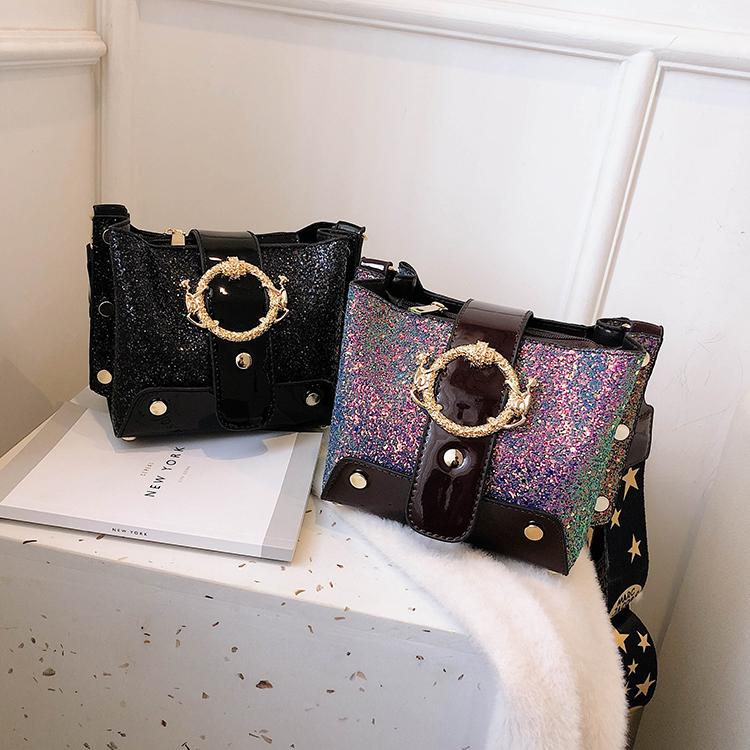 Women Patchwork Handbag Crossbody Bag Soft Leather Square Casual Ladies Chain Shoulder Girl Chain Messenger Satchel Bag louis 12
