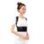 Transpirable Negro 3D Terapia Postura Volver Corrector Apoyo Lumbar Brace Cinturón Masajeador de Espalda Volver Corrector Volver Cinturón Apoyo