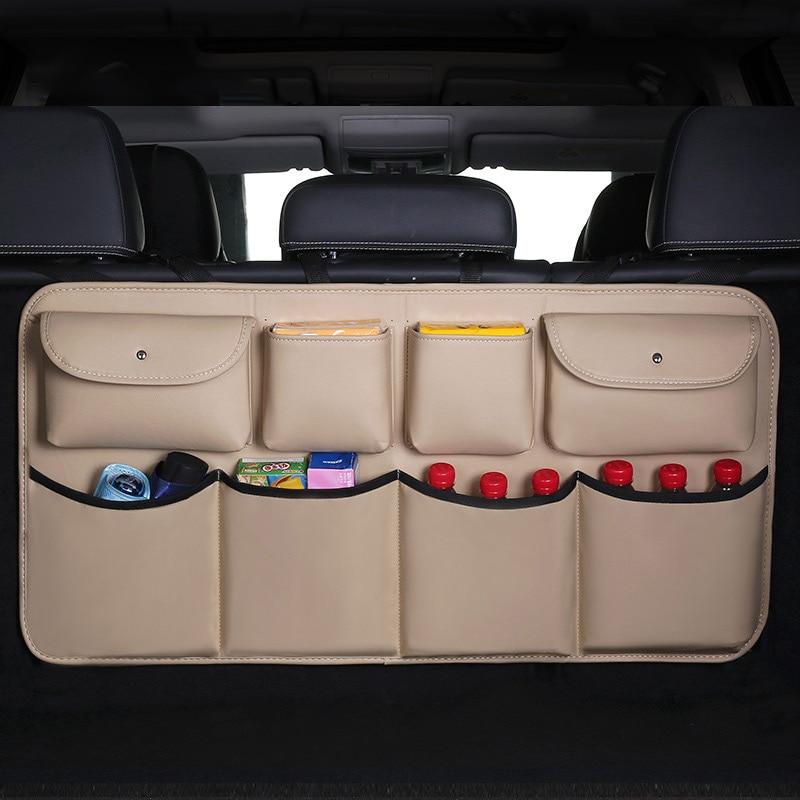 Adjustable Car SUV Backseat Storage Bag High Capacity Multi-use Oxford Organizer