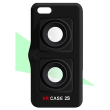 Portable ultralight 3D VR Mobile Phone Case Virtual Reality Google Glasses for iPhone 6/7 Plus iPhone 6S Plus 5.5 Inch Wholesale