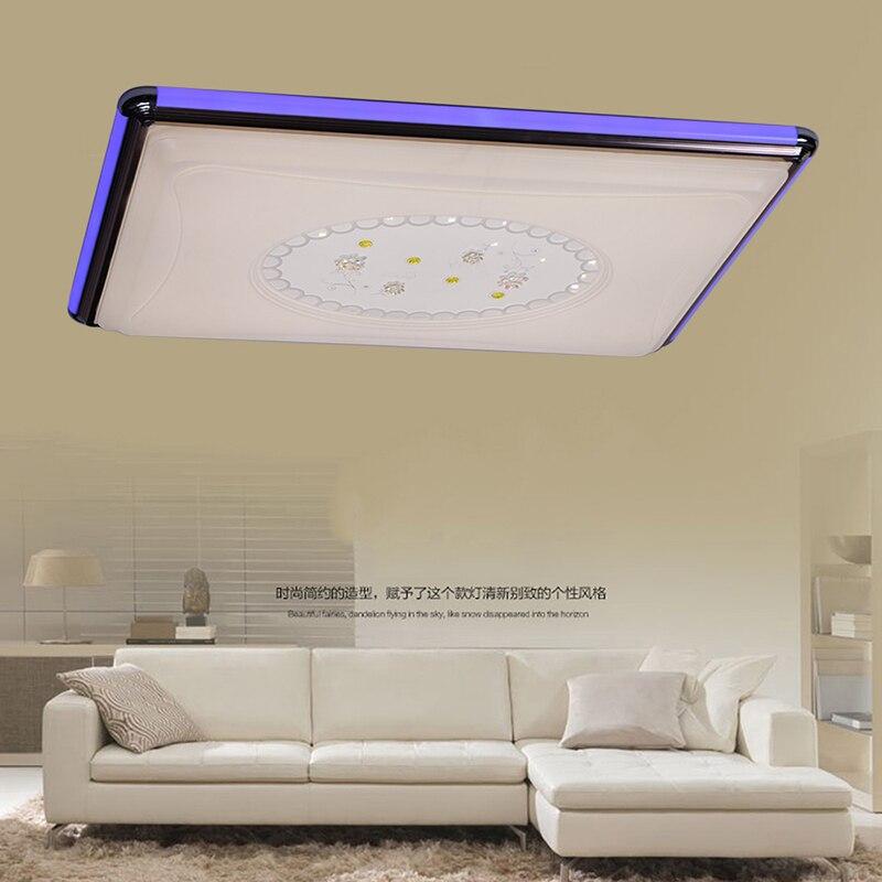 Acrylique Moderne led plafonniers pour le salon chambre salle a ...