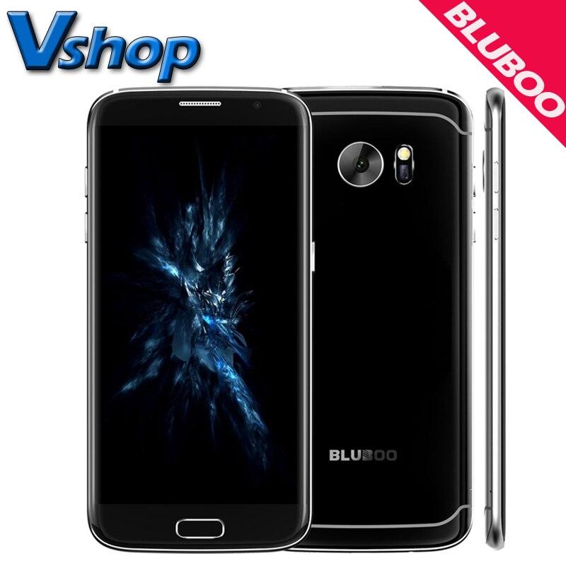 Original bluboo borde 5.5 pulgadas 4g teléfono móvil android 6.0 2 gb ram 16 GB