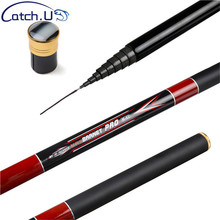 Catch.U 3.6M 4.5M 4.8M 5.4M 6.3M Telescopic Fishing Rod Carbon Fiber Hand Fishing Pole Super Hard Fishing Rods