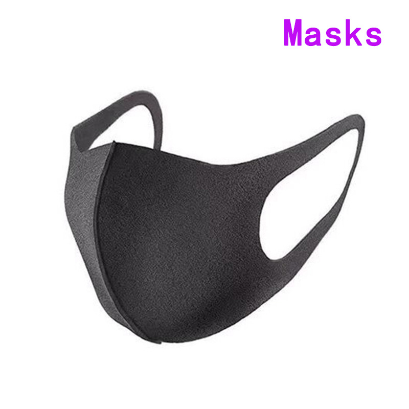 3Pcs NEW Cheap Mouth Mask Anti-Dust Mask Respirator Anti Dust Black breath Mask anime Popular Fashion Child cpr masks mondkapje