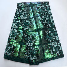 African Lace Fabric French Sequins Net Lace High Quality Tulle Lace Fabric with sequins Embroidered Nigerian Laces Fabrics IG838 african sequins lace fabric 2019 high quality lace material french lace fabric nigerian tulle mesh lace fabrics 24color 1101