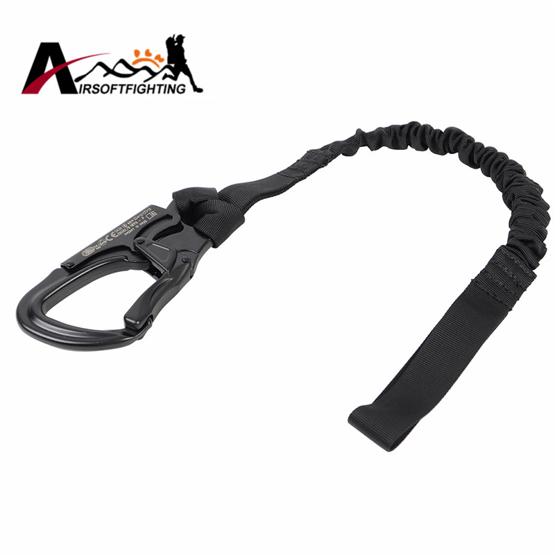 EMERSON  Quick Release Safety Lanyard Strap Rope 1000D Tactical Protected Sling Safety Line Climbing Rope For Outdoor Activities