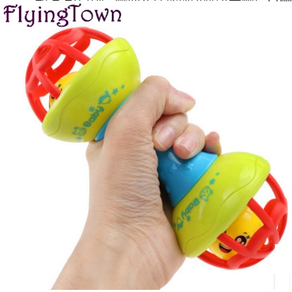 New born baby toys Rattles Baby Toys 0-12 Months rattles suit baby baby puzzle early soft rubber hand bell