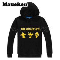 Men Hoodies The Killer B'S Antonio Brown 84 Ben Roethlisberger 7 Le'Veon Bell Pittsburgh Sweatshirts Steelers Thick W17102502