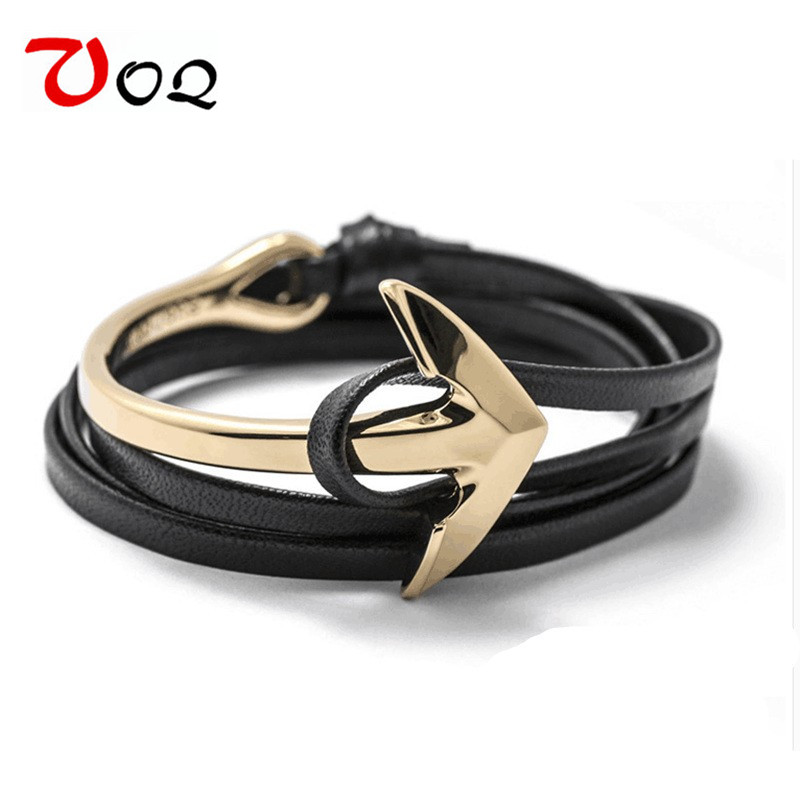 2017 New Arrival Fashion Half Bend Anchor Bracelet s