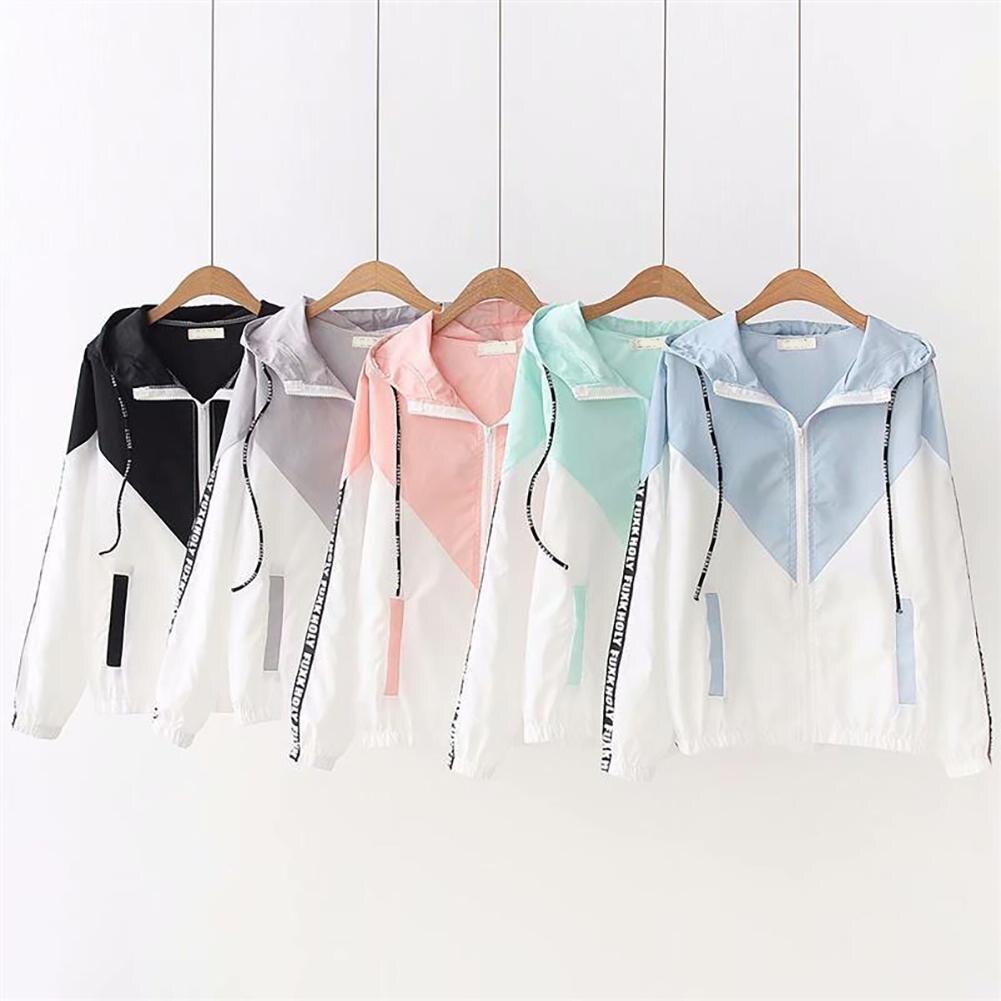 Running Jacket Hoodies Sports Long-Sleeve Fitness Yoga Women's Clothing Ladies For Zipper
