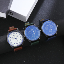 лучшая цена New men quartz watch simple casual leather business students watch luxury watch  mens watches top brand luxury reloj hombre 2018