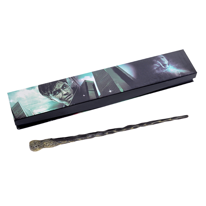 New Hot Sale Quality Deluxe COS Ron Weasley Magic Wand Of HP Magical Wands With Gift Box Packing