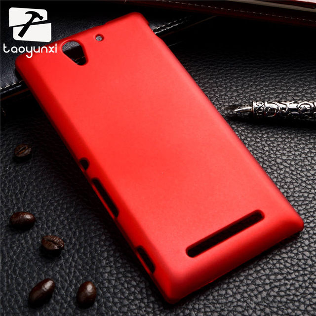 quality design 35d10 005b7 US $1.17 41% OFF|TAOYUNXI Unthin Plastic Matte Phone Case Cover For Sony  Xperia C3 D2533 Housing C3 Dual D2502 S55T S55U 5.5 Inch Back Cover-in ...