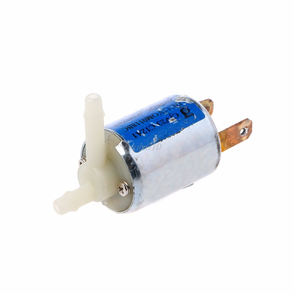 Mini Micro Solenoid Valve 12v DC Electric Water Air Gas Valve Discouraged Normally Closed S08 Wholesale&DropShip