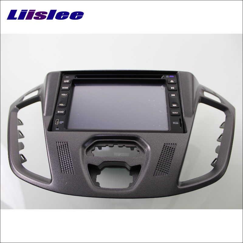 Liislee для Ford Transit на заказ 2013 ~ 2016 автомобильный Радио CD DVD видео плеер gps навигация Nav Navi аудио стерео мультимедийная система